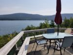Topside Cottage on Somes Sound Kitchen Living Room, and dining room