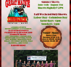 Great Maine Lumberjack Show
